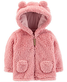 Carter's Baby Girls Fleece Hooded Jacket