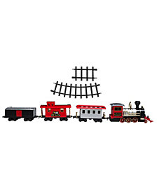 FAO Schwarz Train Set Motorized with Sound 30pcs