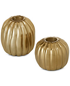 Madison Park Rivera Candle Holder, Set of 2