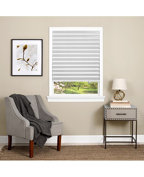 Achim Cordless 1-2-3 Vinyl Room Darkening Pleated Window Shade Collection