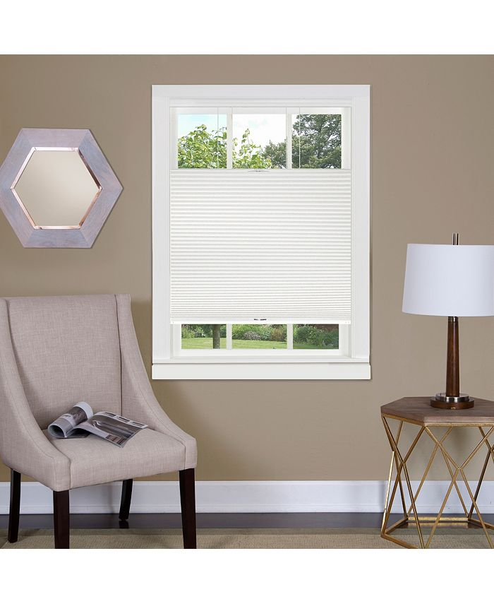 Achim - Top Down-Bottom Up Cordless Honeycomb Cellular Shade 29x64 White
