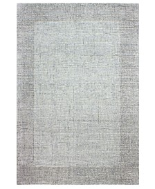 """Area Rugs, Frame FR1 14"""" Square Swatch, Created for Macy's"""
