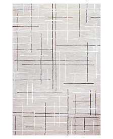 Hotel Collection Area Rug, City Grid CG1 2' x 3', Created for Macy's
