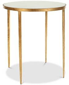 Tracey Round Accent Table, Quick Ship