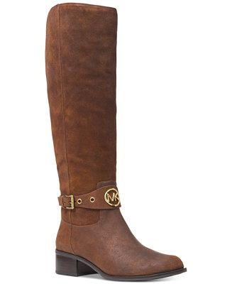 8e386b7e158 Michael Kors Heather Riding Boots   Reviews - Boots - Shoes - Macy s