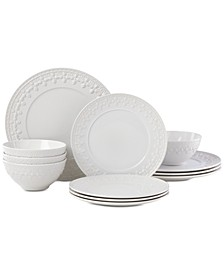 Chelse Muse Fleur 12-Pc. Dinnerware Set, Service for 4