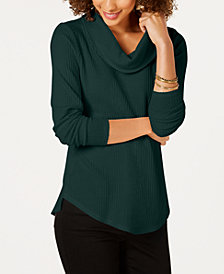 Style & Co Cowl-Neck Thermal, Created for Macy's