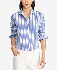 Ralph Lauren Petite Striped Shirt