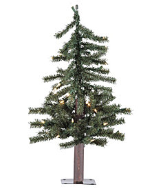 3' Natural Alpine Artificial Christmas Tree Unlit