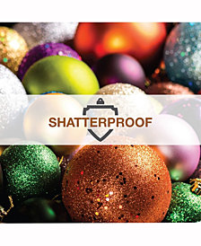 "Vickerman 1.6"" Champagne 4-Finish Ball Christmas Ornament, 96 per Box"