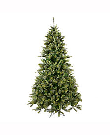 Vickerman 7.5' Cashmere Pine Artificial Christmas Tree Unlit