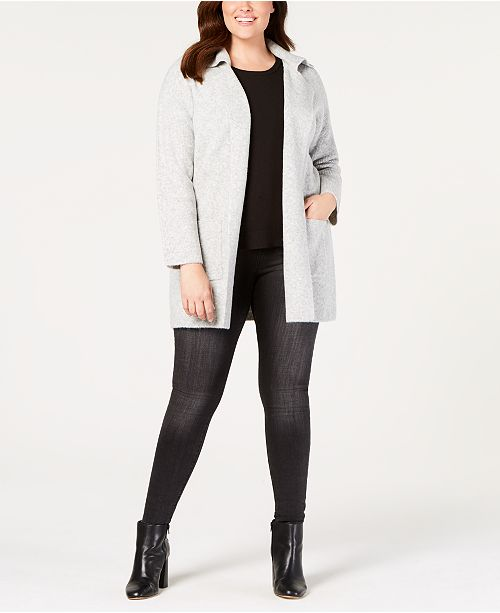 365621c5354 Style   Co Plus Size Sweater Blazer