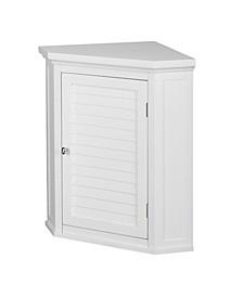 Slone Corner Wall Cabinet with 1 Shutter Door