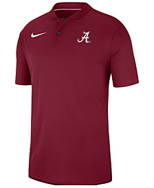 Nike Men's Alabama Crimson Tide Elite Coaches Polo 2018