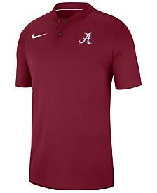 Nike Men's Alabama Crimson Tide Elite Coaches Polo 2018