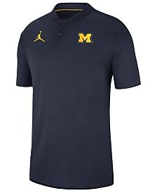 Nike Men's Michigan Wolverines Elite Coaches Polo 2018