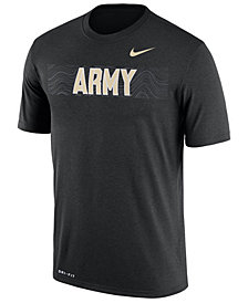 Nike Men's Army Black Knights Legend Staff Sideline T-Shirt