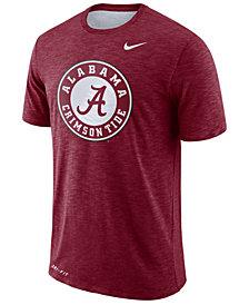 Nike Men's Alabama Crimson Tide Dri-Fit Cotton Slub T-Shirt