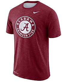 Nike Men's Alabama Crimson Tide Dri-Fit Cotton Slub T-Shirt