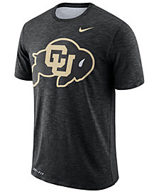 Nike Men's Colorado Buffaloes Dri-Fit Cotton Slub T-Shirt