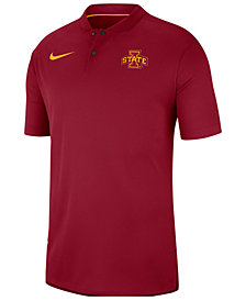 Nike Men's Iowa State Cyclones Elite Coaches Polo 2018