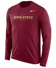 Nike Men's Iowa State Cyclones Legend Sideline Long Sleeve T-Shirt 2018