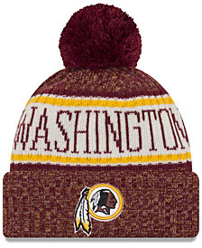 New Era Washington Redskins Sport Knit Hat