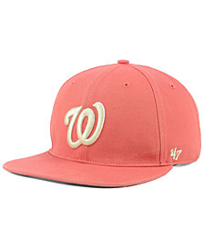'47 Brand Washington Nationals Island Snapback Cap