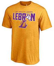 Majestic Men's LeBron James Los Angeles Lakers LeBron GOAT T-Shirt