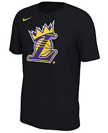 Nike Men's LeBron James Los Angeles Lakers King's Crown T-Shirt
