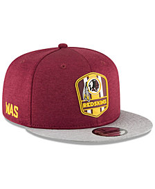 New Era Boys' Washington Redskins Sideline Road 9FIFTY Cap