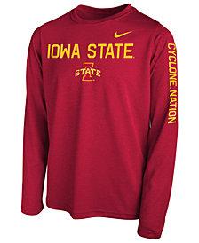 Nike Iowa State Cyclones Legend Long Sleeve T-Shirt, Big Boys (8-20)