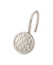 Shower Hooks - Woven - Brush Nickel