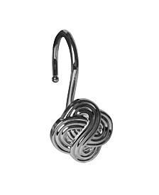 Shower Hooks - Gaelic Knot - Chrome Finish