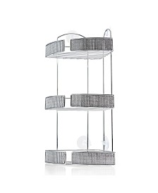 3-Tiered Chrome Shower Caddy