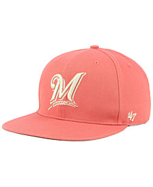'47 Brand Milwaukee Brewers Island Snapback Cap