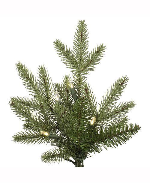 main image ... - Vickerman 7.5' Fresh Balsam Fir Artificial Christmas Tree With 750