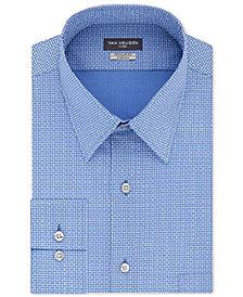 Van Heusen Men's Slim-Fit Flex Collar Poplin Pattern Dress Shirt