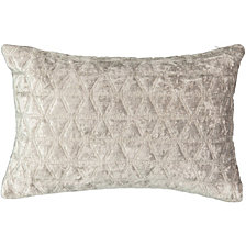 Beautyrest Social Call 12x18 Velvet Decorative Pillow