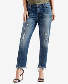 Lucky Brand Cutoff Boyfriend Jeans