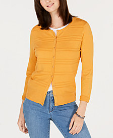 Charter Club Textured Cardigan, Created for Macy's