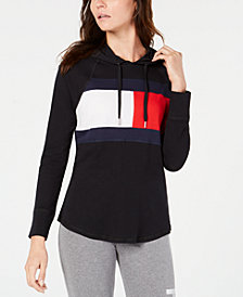 Tommy Hilfiger Sport Logo Hooded Sweatshirt