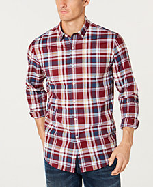 Club Room Men's Sarason Plaid Shirt, Created for Macy's