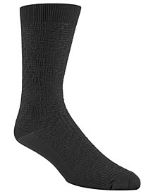 Cole Haan Men's Diagonal Stripe Socks