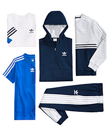 adidas Originals Big Boys Hoodie, Sweatsirt, T-Shirt, Jersey & Jogger Pants