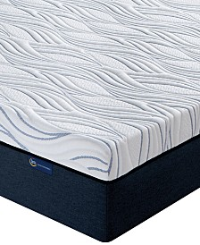 "Serta Perfect Sleeper 12"" Express Luxury Medium Firm Tight Top Mattress - Full, Quick Ship, Mattress In A Box"