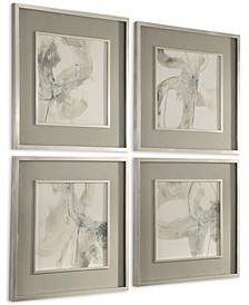 Divination Abstract Art Set of 4