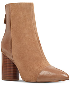 Nine West Cabrillo Cap-toe Booties