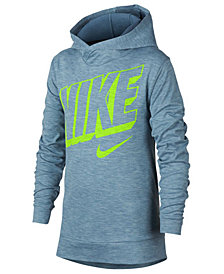 Nike Big Boys Breathe Graphic-Print Hooded Training Top