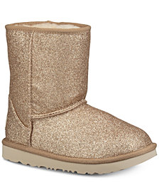 UGG® Toddler Classic Short II Glitter Boots